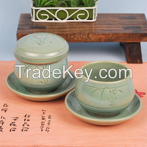 Korean traditional tea cup set