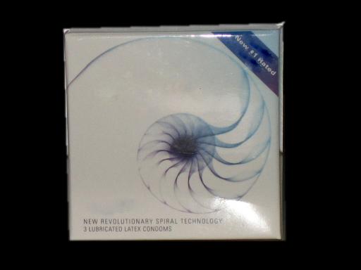 Spiral-Shaped Condom