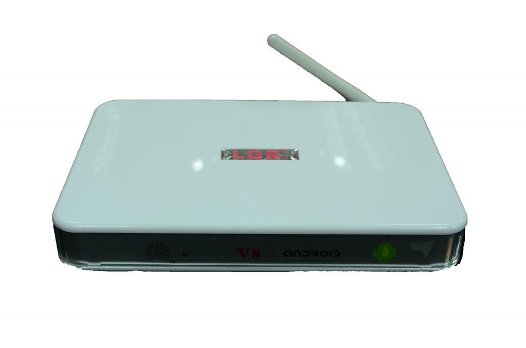 The factory original Android IPTV LGR V8 set top box support rj45+wifi