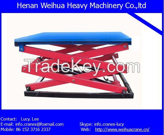 Lifting platform from HENAN WEIHUA