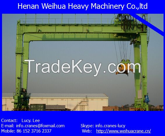 High quality 20t single girder gantry crane with various certifications