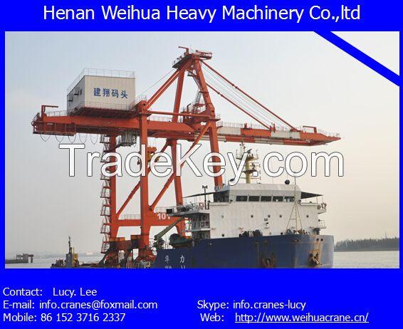 High quality ship to shore crane from HENAN WEIHUA
