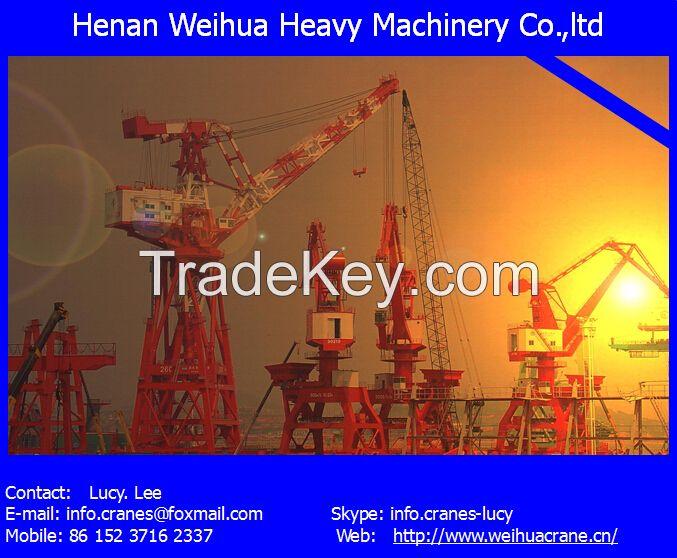 50T new portal crane from HENAN WEIHUA