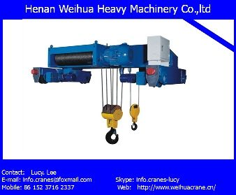 0.5 T High performance Electric Hoist used for factory