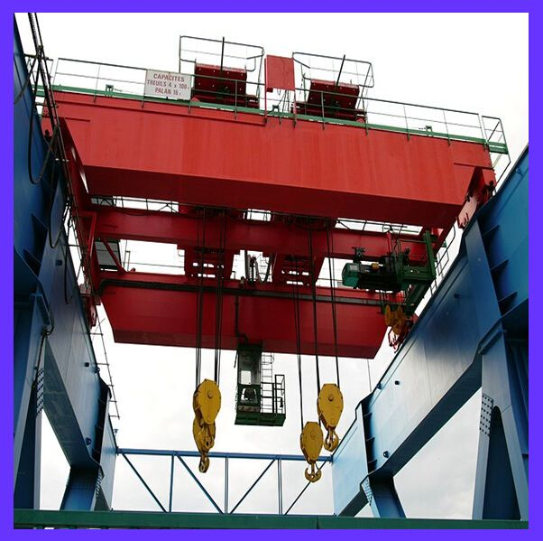 WEIHUA Extra Long Electromagnetic Overhead Crane with Carrier Beam