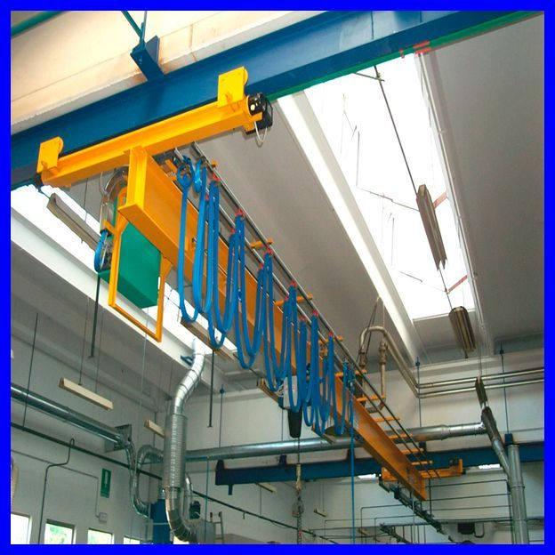 7t single girder briage crane
