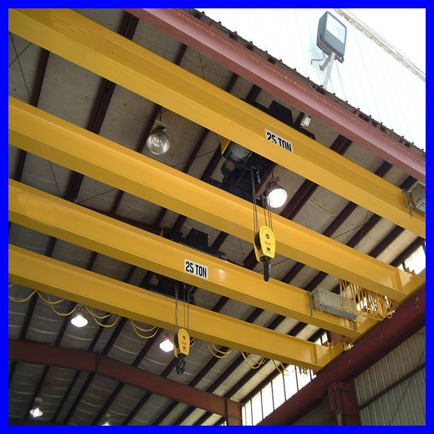 European single beam briage crane 30t