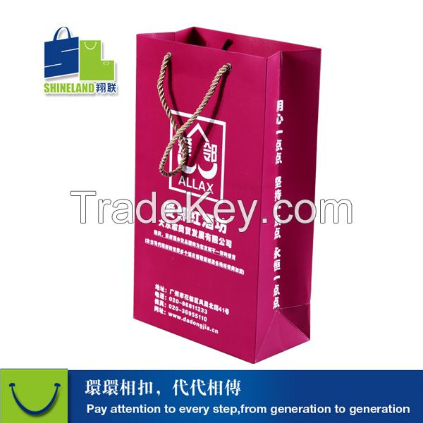 2015 paper bag for shopping industry
