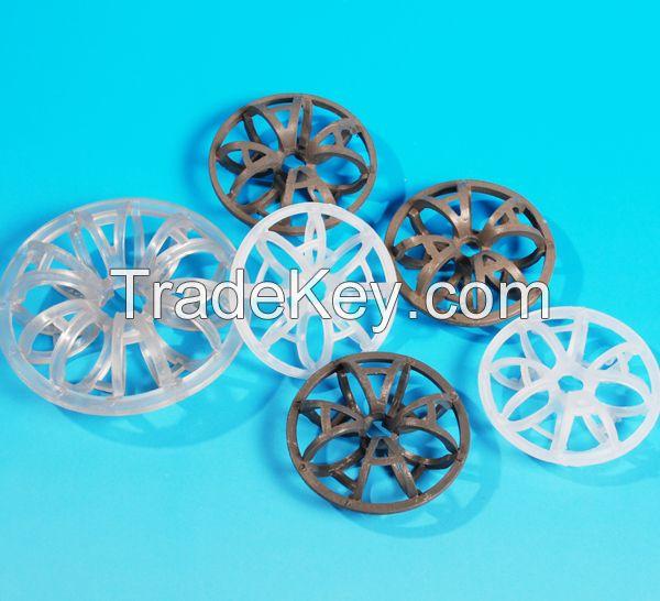 Tower packing Plastic teller rosette ring