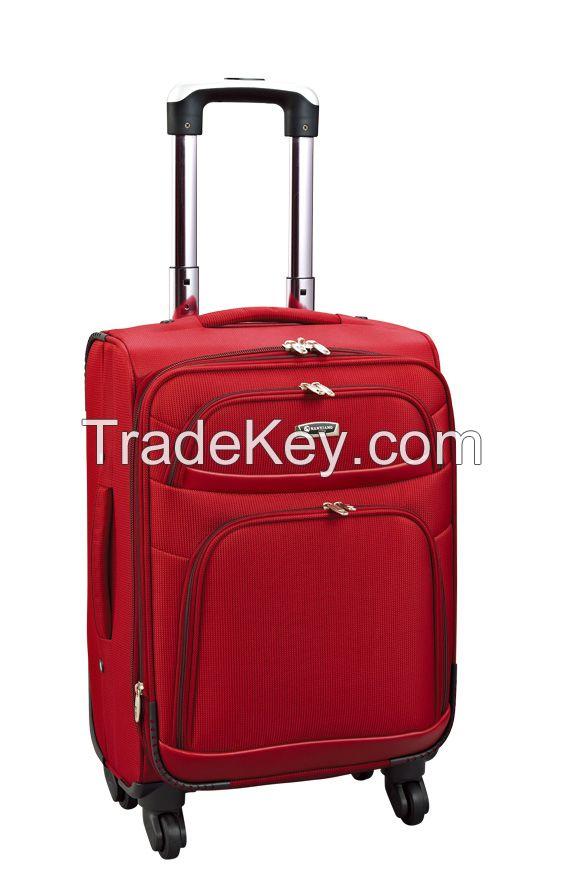 1680D nylon men and women trolley luggage