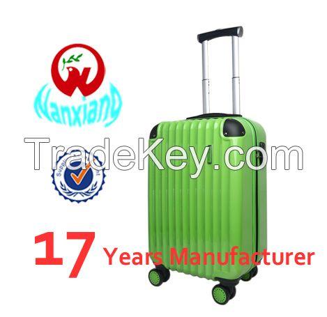 China manufacturer,ABS+PC luggage set