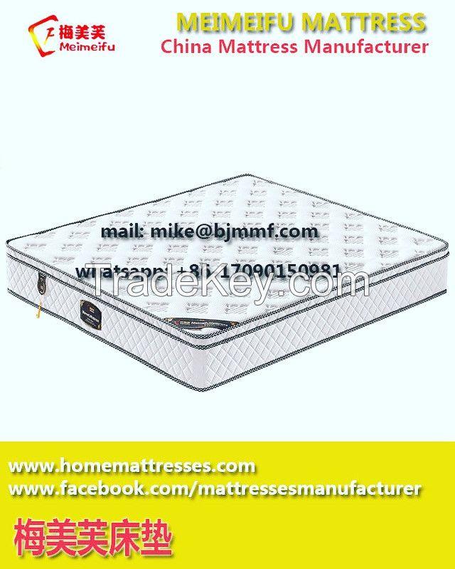 Luxury Bedroom Furniture Latex Sleepwell King Size Mini Pocket Spring Mattress | Meimeifu Mattress