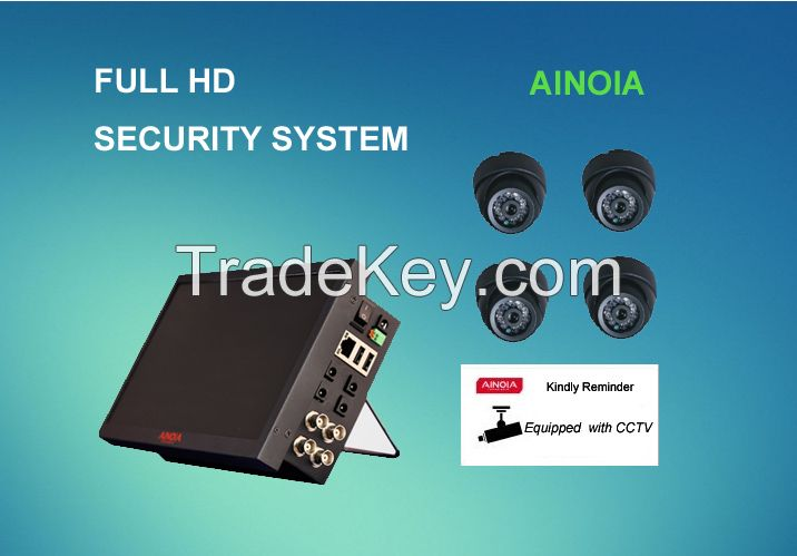 AI - DM1504H - 1513MH 4CH DVR/NVR All in One kit