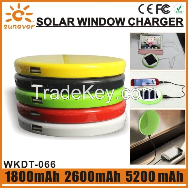 window solar charger power bank