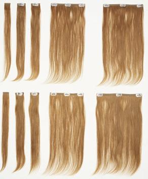 Pre Bond Clip Hair Extensions