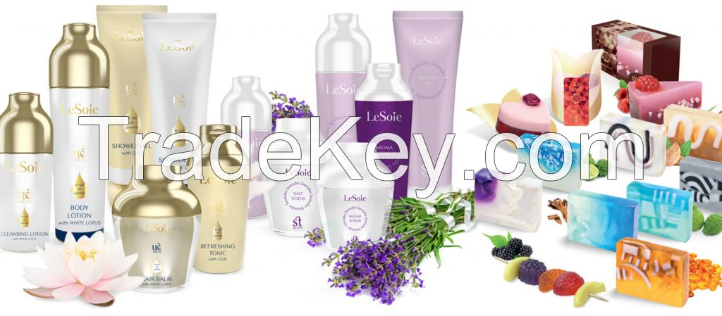 All kind of organic and natural personal care products (Hair, body, bath, feet, hand and others)
