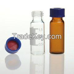2ml amber glass hplc vial for Agilent autosampler