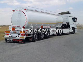 LPG tanker and various semi trailers