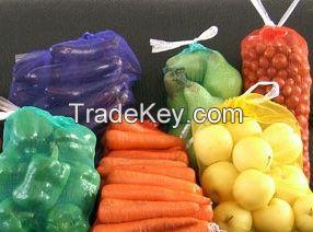 Raschel mesh bag for potato
