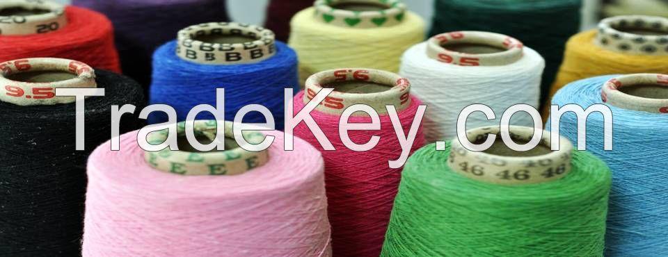 Lycra Blended Yarn