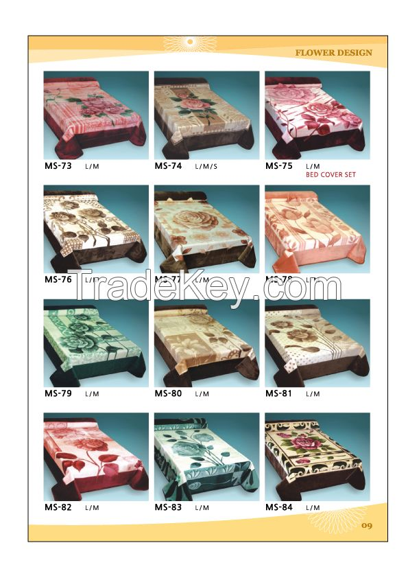 Made in korea / The best 100% polyester blanket/100% acrylic blanket