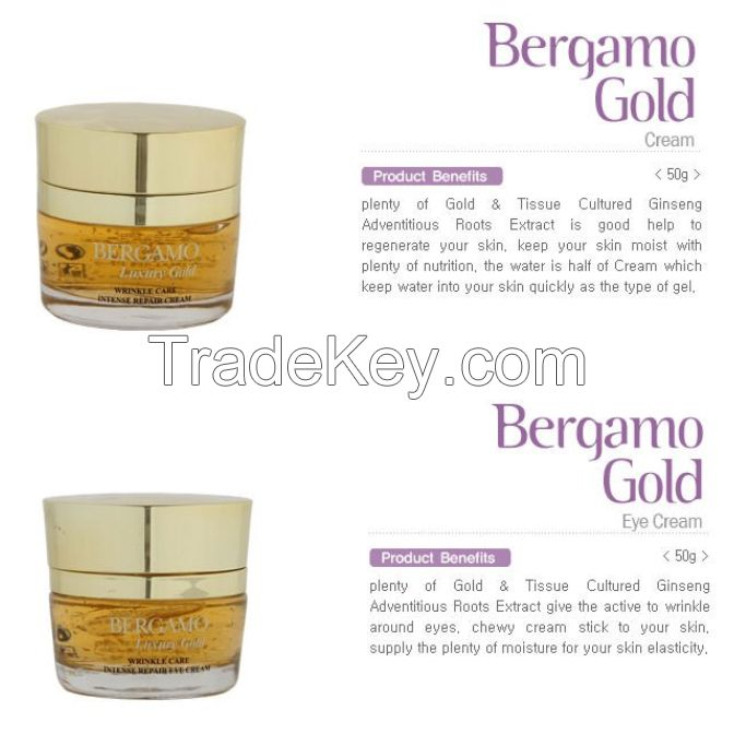 BERGAMO Gold Skin Care Set (9pcs)
