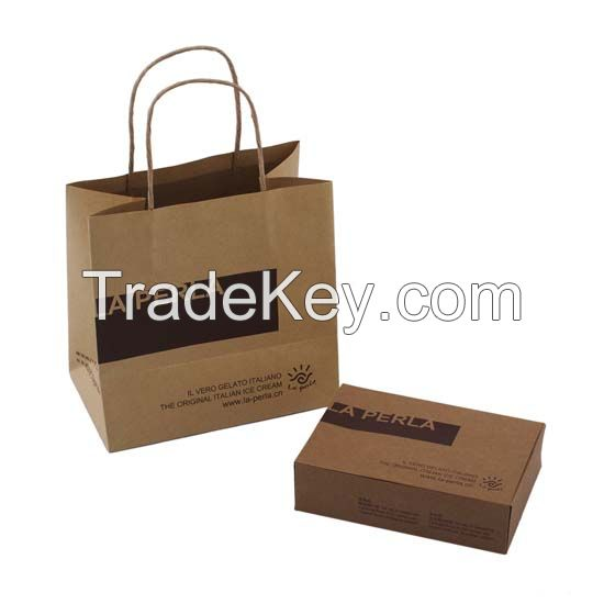 Brown Craft Paper Packaging Box
