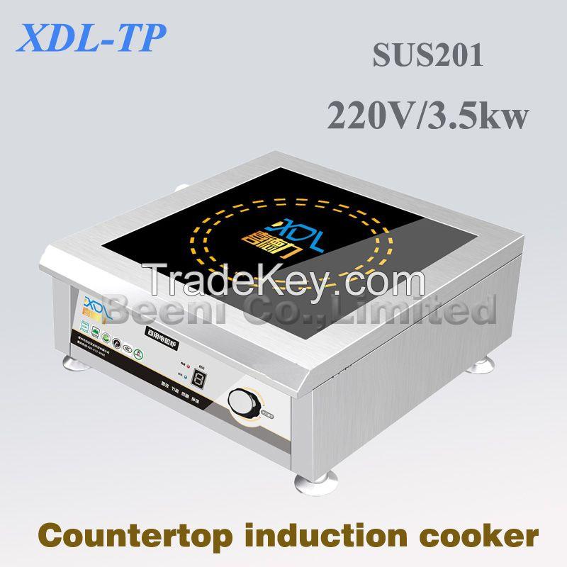 380v/3500w 50HZ hot sale concave commercial induction cooker