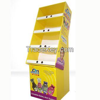 custom cardboard book display stands