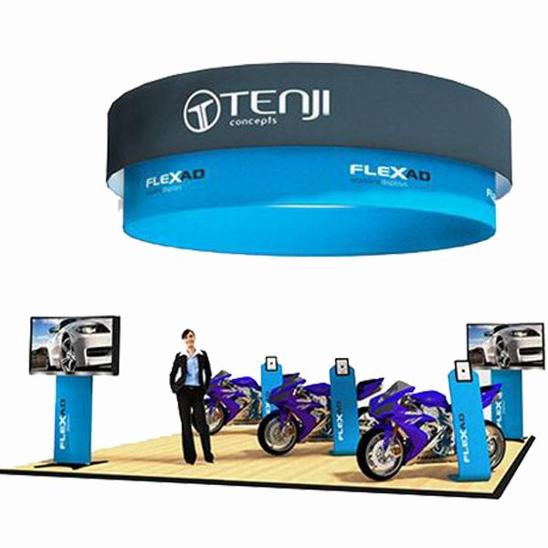 expo Factory customized tradeshow hanging sign