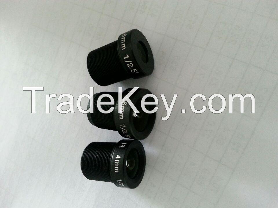 cctv lens 4mm lens mount m12 lens Megapixel Mono Focal Camera Lens