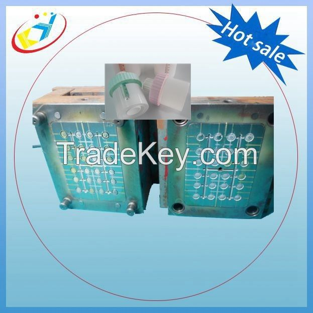 Injection mould for medicine ointment jars long tip cap