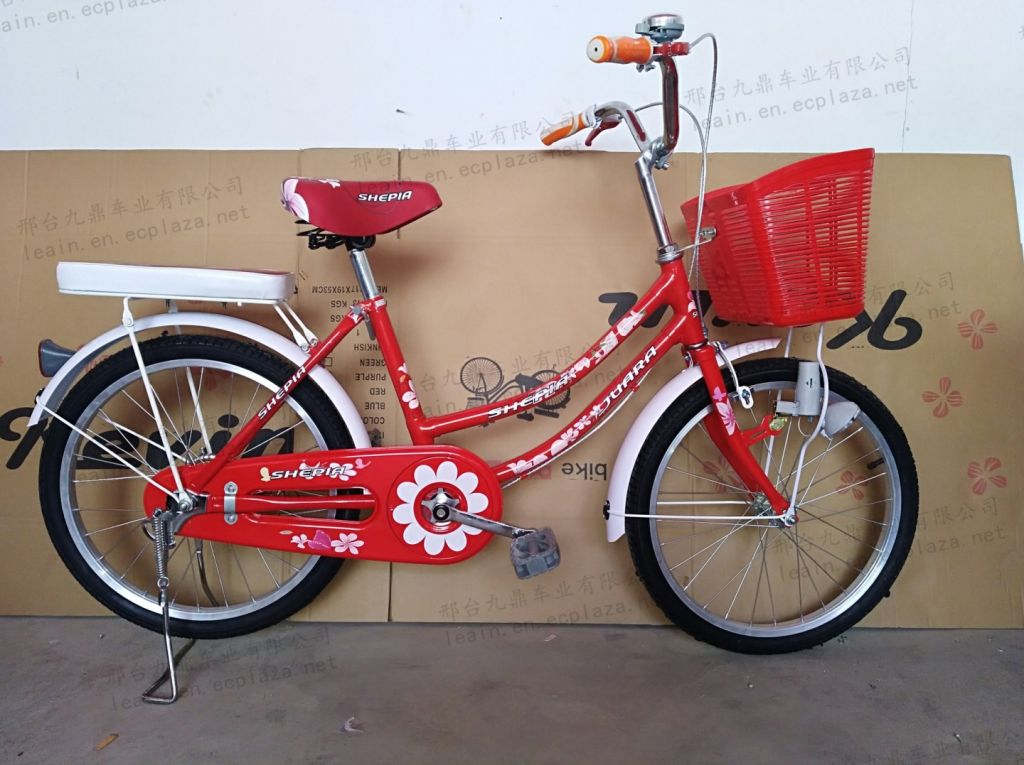Beautiful design city bike/high quality strong bicycle with basket and carrier/factory wholesale price