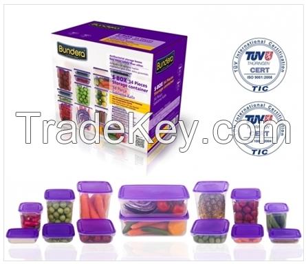 34 Parts Bundera S-Box Storage Container