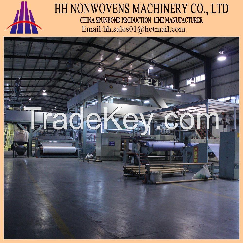 HHM-1800mm pp spunbonded nonwoven production line