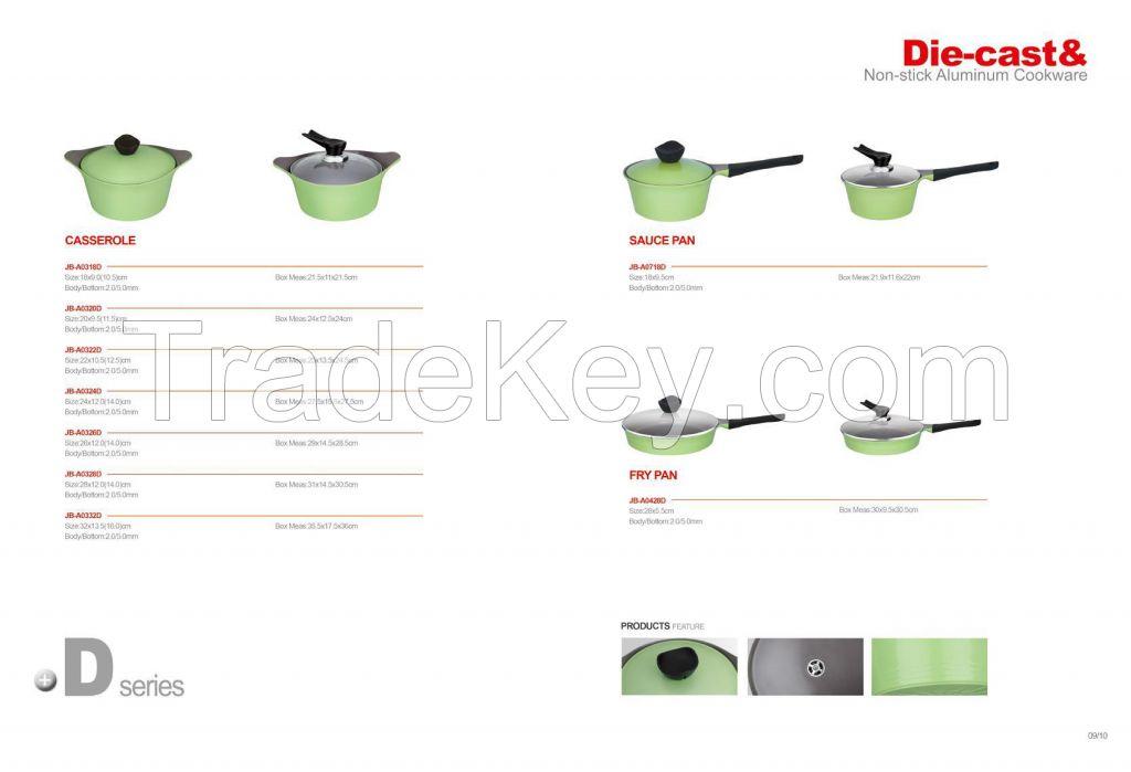 Non-Stick Aluminum Cookware