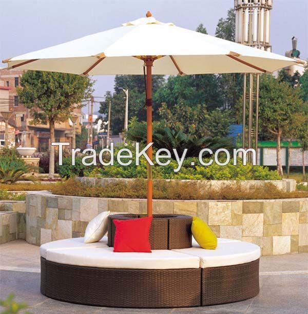 2014 HOT Sale Rattan Garden Sofa