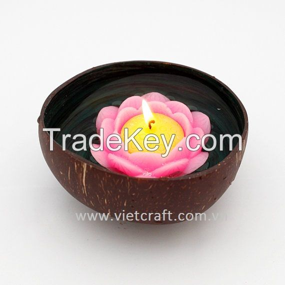 lacquer coconut shell bowl home decoration