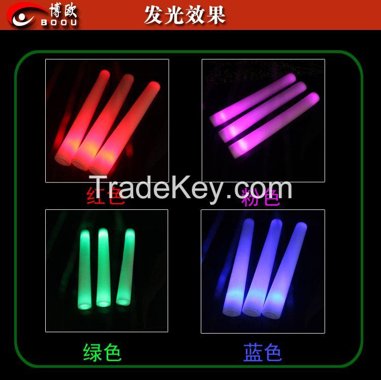electronic flash stick foam sponge stick light sticks concert bar supplies