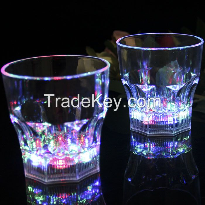 Novelty LED Flashing glass party wedding birthday ktv use most