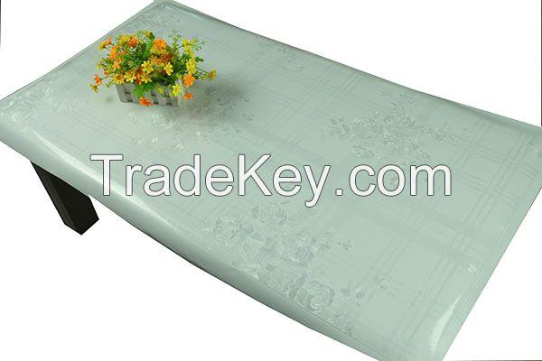 EVA Crystal Embossing Tablecloth