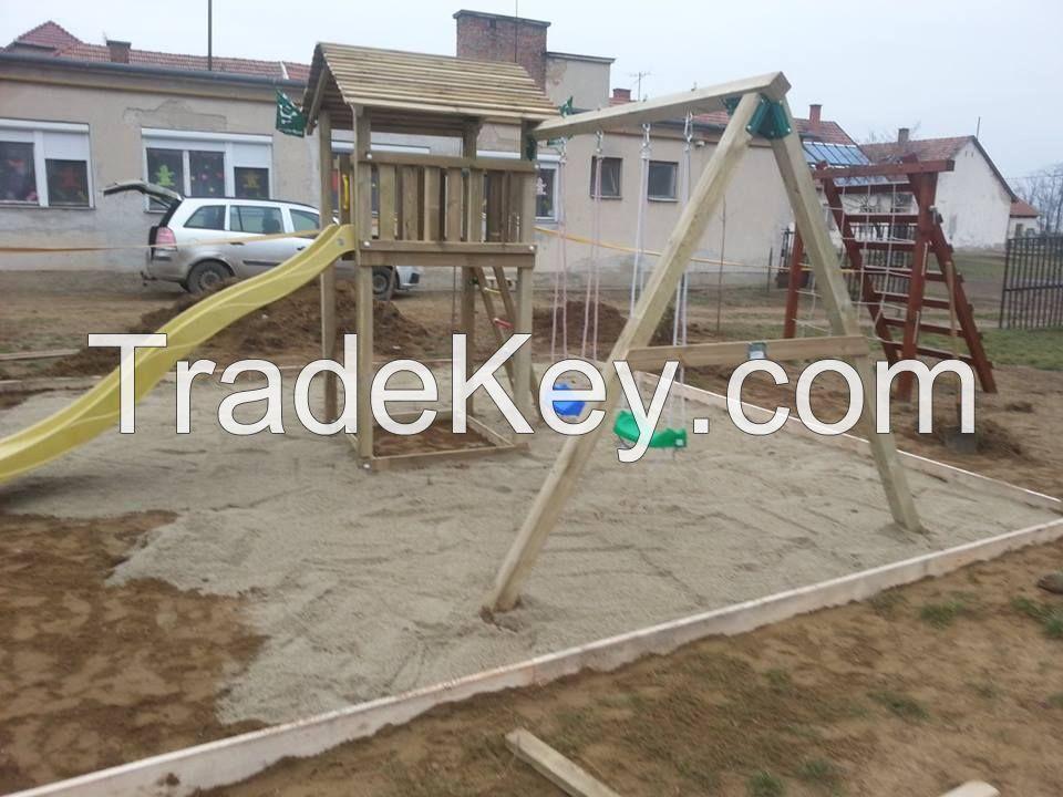 Magical wood playground