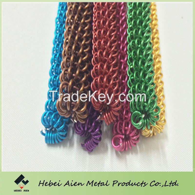 colored craft aluminum wire