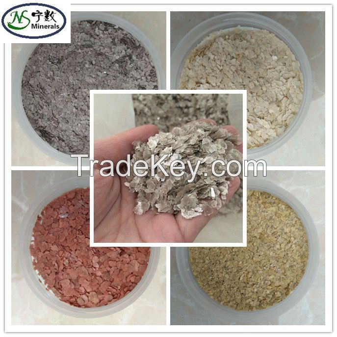 Bulk High- Quality Decoration Rock Chip Flakes for epoxy floor, really stone paint, etc