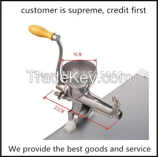 manual stainless steel juicer