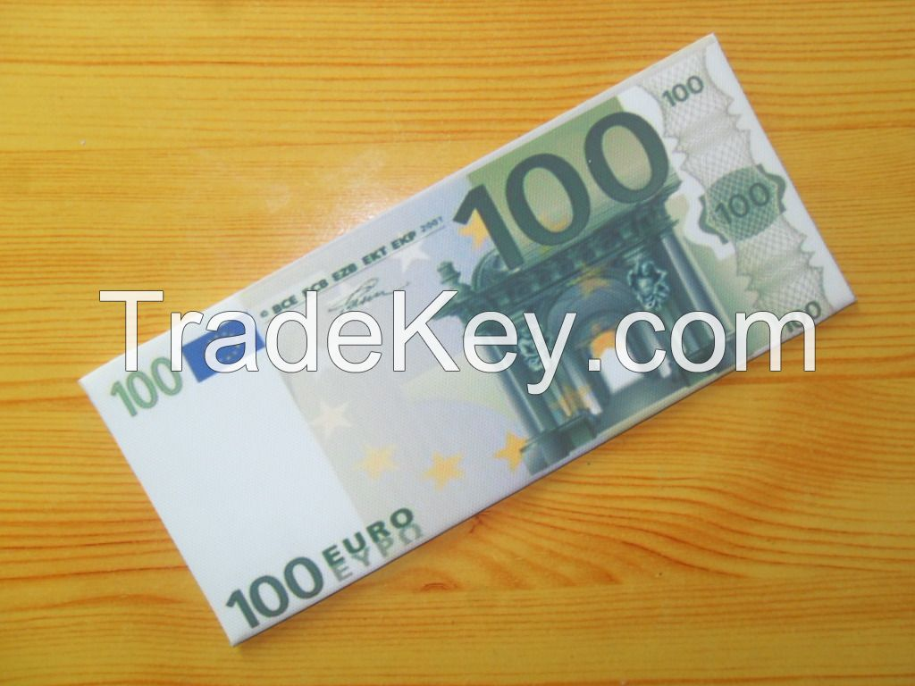 Various countries Paper money wallet fashion men dollar purse wallet c