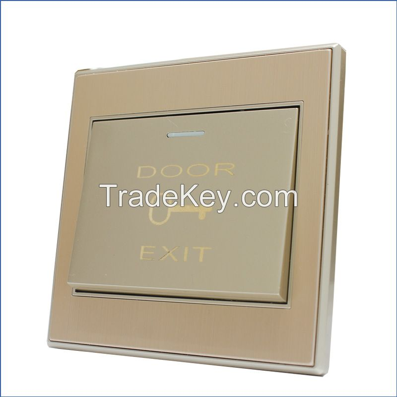 Door Push Release Button Door Swtich With 3 Output Contacts