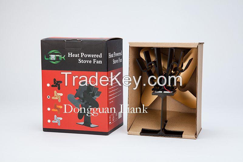 Heat Powered Wood Burning Stove Fan