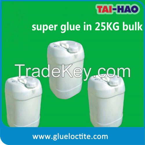 Hot Raw cyanoacrylate adhesive glue in bulk (super glue 502)