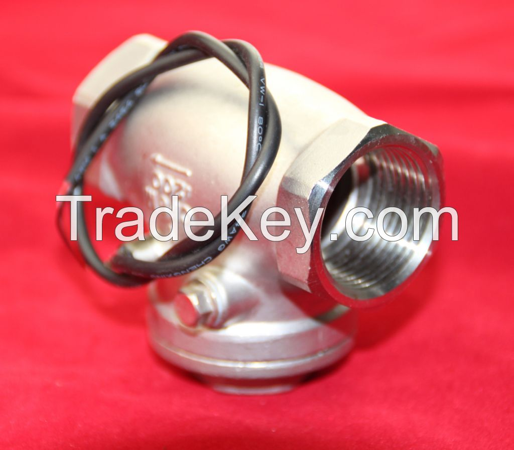 Stainless steel liquid /air flow switch w15-S